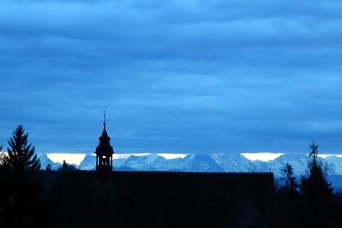 Alpenblicke in Solothurn