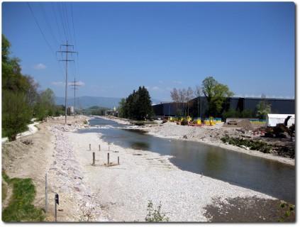 Emme Hochwasserschutz kommt mit Riesenschritten voran