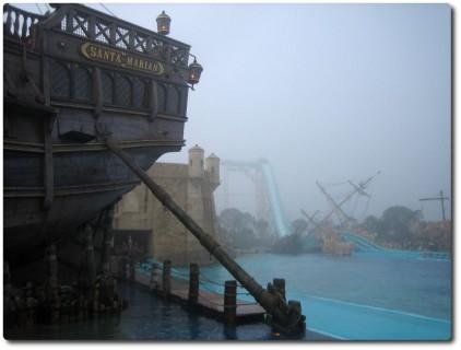 Europa Park im Nebel