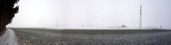Panorama Ebene bei Ersigen