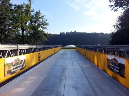 Armeebrücke über die Emme