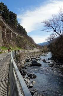 Etschschlucht und Radweg