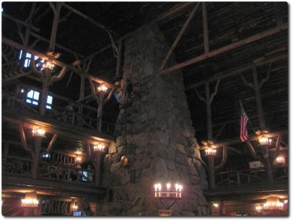 Lobby des Old Faithful Inn