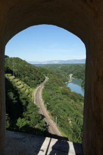 Fort l'Ecluse inférieur - Eisenbahnblick