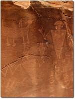 Dinosaur National Monument - Indianische Felsmalereien