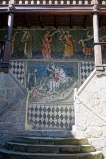 Castello di Fénis - Drachentöter