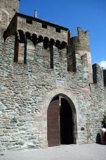 Castello di Fénis - Eingang