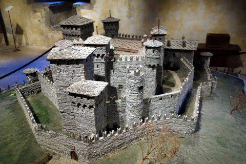 Castello di Fénis - Modell