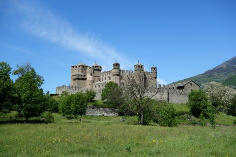 Castello di Fénis - Aussenansicht