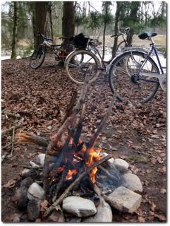 Bikes und Feuer