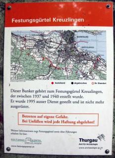 Beschriftungen - Festungsgürtel Kreuzlingen