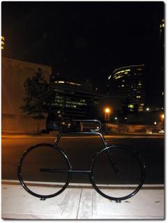 Kunst oder Fahrradstand ?