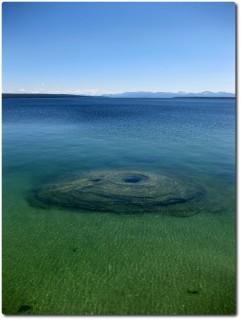 West Thumb Geysr Basin - Fishing Cone