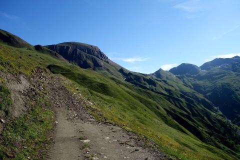 Aufstieg in Richtung Saflischpass