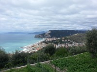 Blick auf Finale Ligure