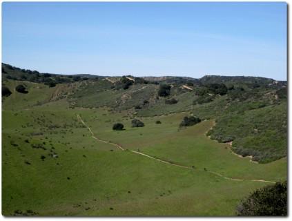Fort Ord - Goat Trail mit Mountainbiker