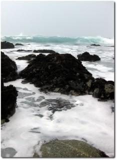 Wellen im Nebel...