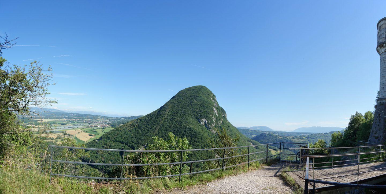 Panorama zum Montagne Vuache
