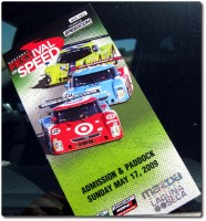 Monterey Festival of Speed - Ticket