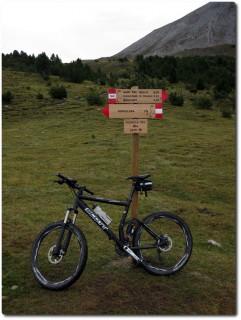 Fuorcla del Gal auf 2279m und tolle neue Wegweiser