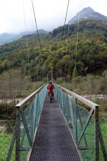 Hängebrücke Frasco