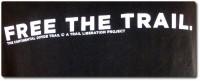 T-Shirt Free The Trail IMBA