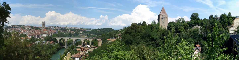 Panorama Fribourg