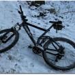 Frostiges Biken
