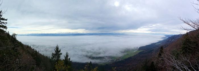 Nebelpanorama Geissfluh Chalet