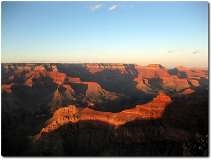 Grand Canyon - Sonnenuntergang 01