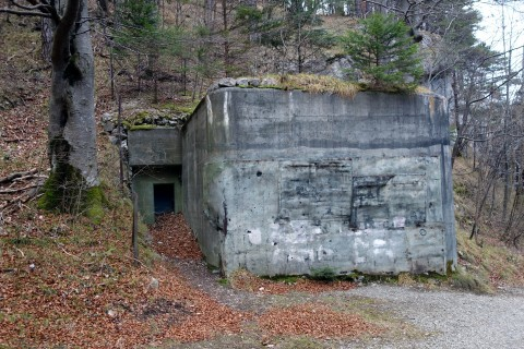 Gorges de Court - Bunker