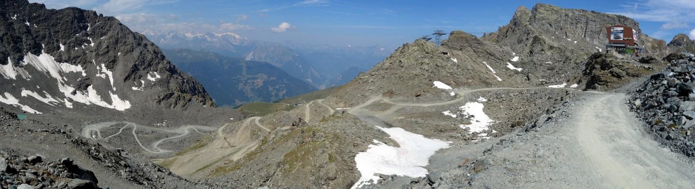 Panorama Col de Gentianes