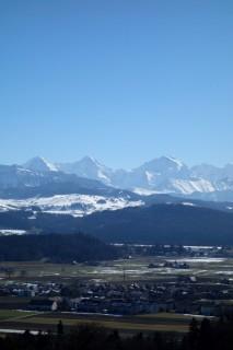 Gerzensee - Eiger, Mönch und Jungfrau