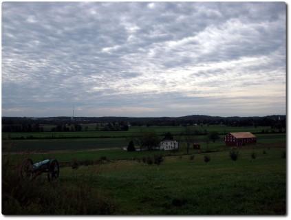 Gettysburg - Schlachtfeld