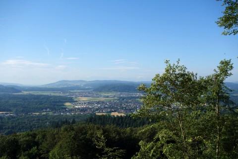 Blick unterhalb Gisliflue ins Mittelland