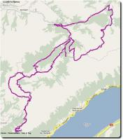 Google Map Emme - Mountainbike - Tour 2. Tag