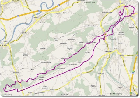 Google Map Limpachtal Loop
