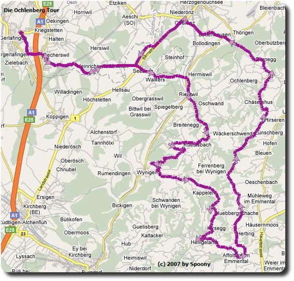 Ochlenberg Tour Google Maps