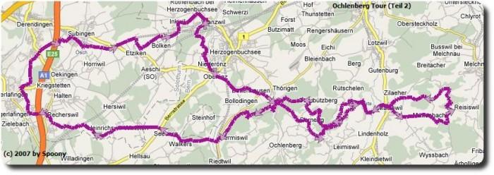 Ochlenberg Tour Google Maps Teil 2