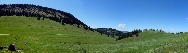 Grange Neuve - Blick nach Westen