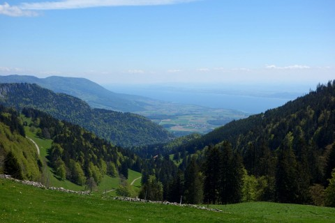 Grange Neuve - Blick zum Neuenburgersee