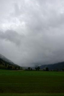 Obergoms - Nasser Nebel
