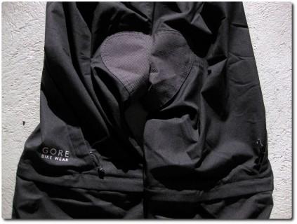 Gore Countown Bikehose - Abzipbare Beine und Sitzschutz