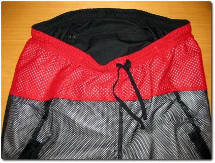 Gore Countown Bikehose - Innenseite mit Netz, Bändel und Tasche