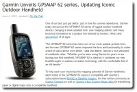 Garmin Blog - GPSmap 62