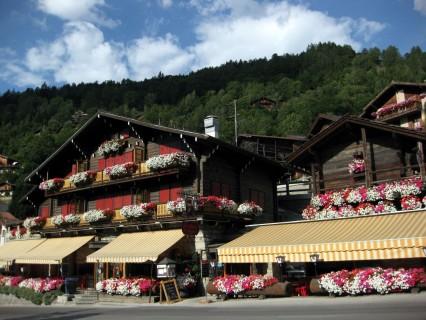 Graniumdorf Grimentz