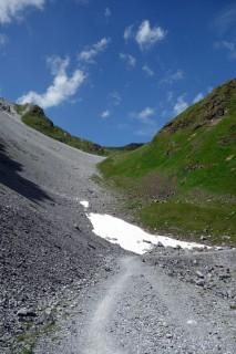 Panoramaweg unterhalb Grüenturm