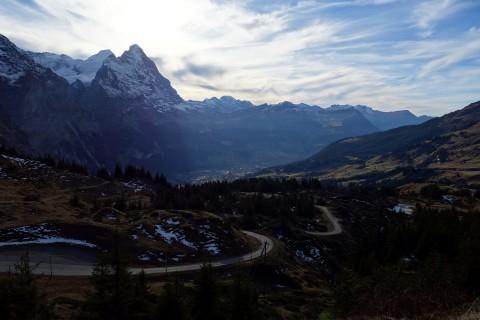Grosse Scheidegg - Abfahrt