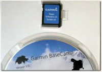 Garmin Topo Schweiz V.3 SD bzw. Mini-SD Karte und Installations CD
