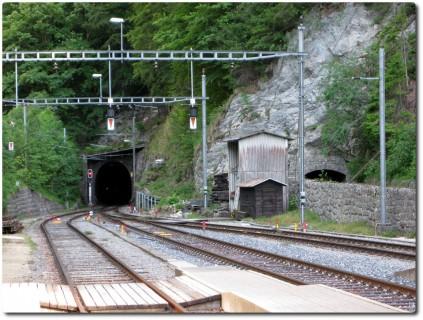 Gänsbrunnen - Tunnel durch den Weissenstein